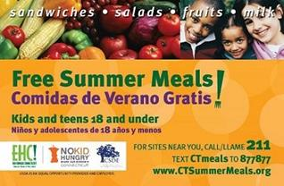 Free Summer Meals, Fruits logo